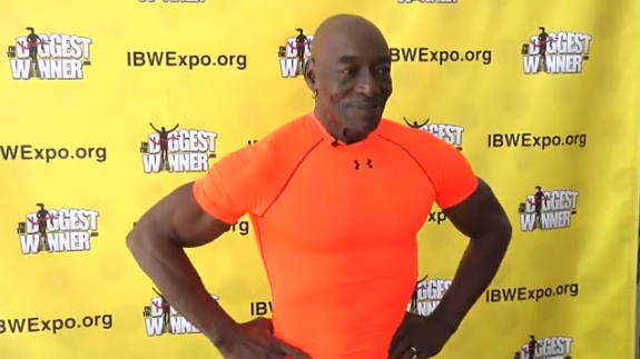 71-Year-Old Meat Head Rouses At Wellbeing And Wellness Expo