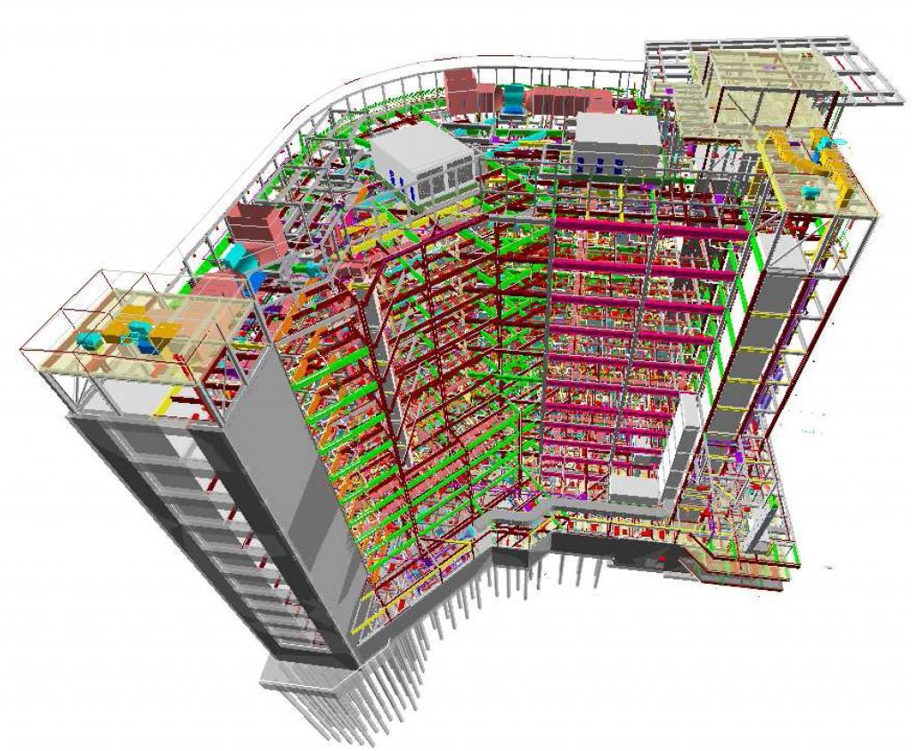 Building Information Modeling System For Building Design and Documentation
