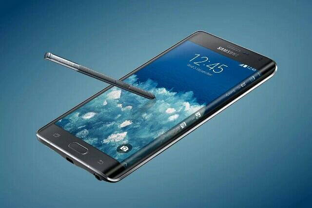 Samsung Galaxy Note Edge Unusual Display High-end Smartphone
