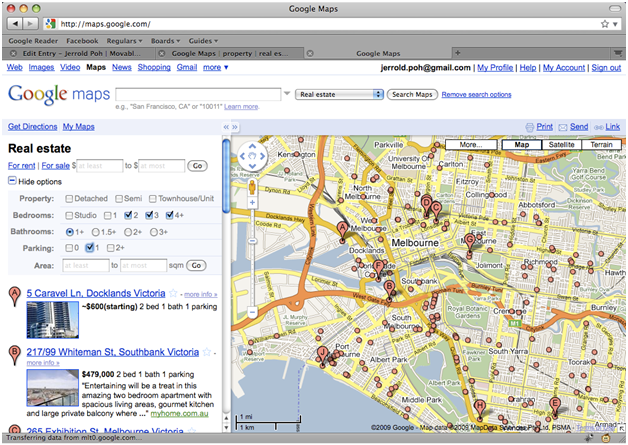 Using Google Maps To Find The Property In Real Estate Websites