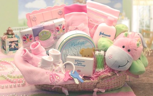 Unique Gift Baskets For New Born Babies