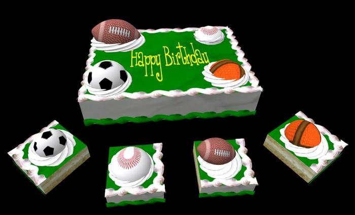 Enjoyable Celebrate The Day Of Sports Lover With Top 5 Sports Birthday Cake Personalised Birthday Cards Akebfashionlily Jamesorg