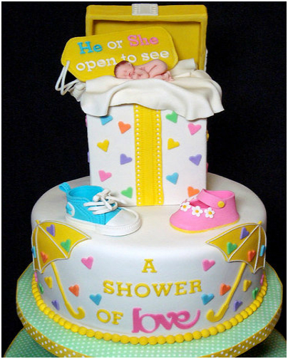 Outstanding Cake Decoration Ideas For Baby Shower