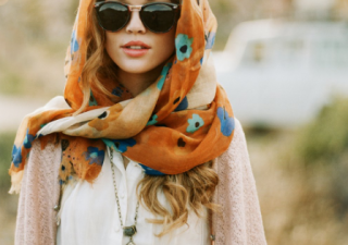 5 Ways To Wear Your Fashion Scarf