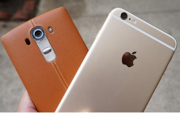 Comparison Of Heavyweights: iPphone 6 Plus vs LG G4