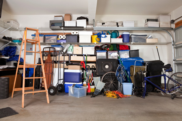 How To Organize The Cluttered Area Of Garage?