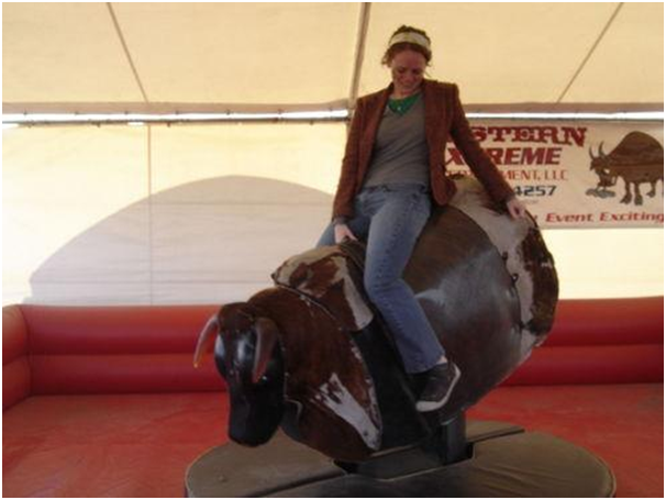 Mechanical Bulls Are Big Bucks For The Entertainment World