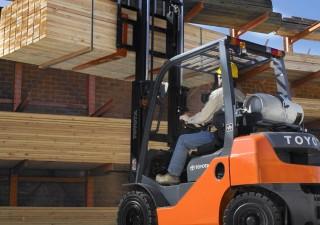 World Class Articulating Forklift For Warehousing