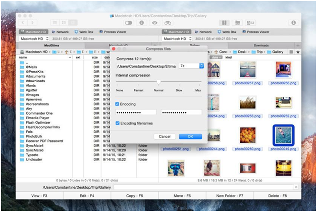 Handle Archive Files On Mac With Commander One