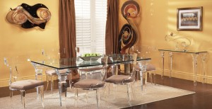Adding Twist In Your Life and Rooms are Acrylic and Lucite Coffee Tables