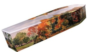 Customised and Personalised Picture Coffins With Designs