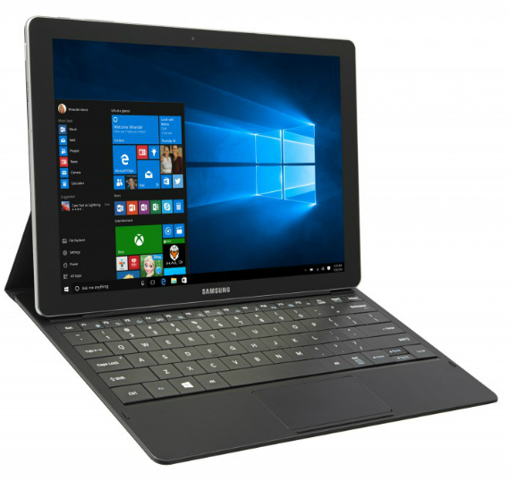 Samsung Unveils Galaxy Tab Pro S 2-In-1 Windows 10 Tablet With 12-Inch Super AMOLED Display