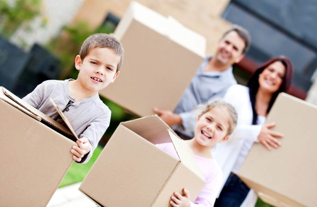 How Small Children Can Help You Make A Move