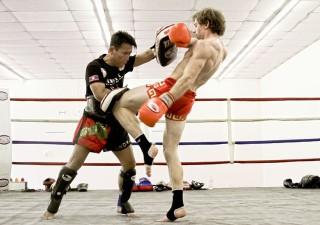 Muay Thai Training At Phuket Beach and Thailand For Tourist