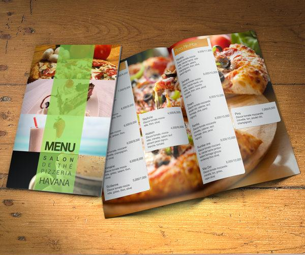 Impress Your Customers by Printed Menu Cards