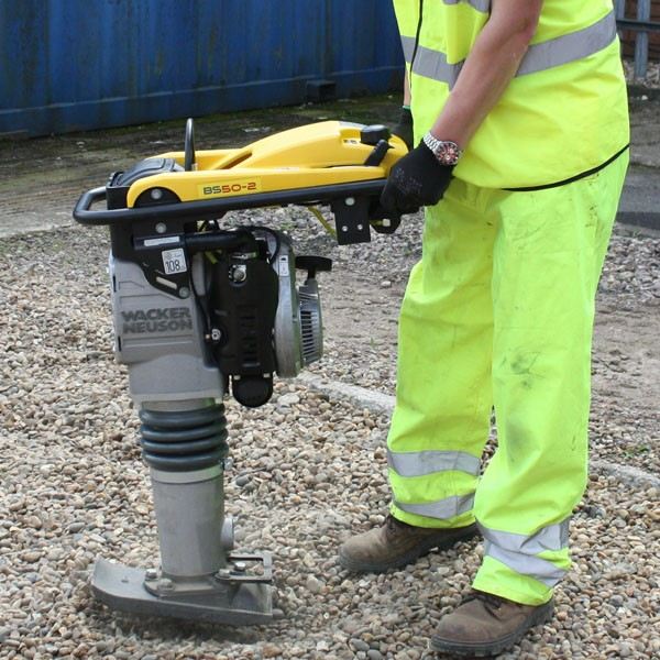 Use Of Wacker Neuson Rammer In The Construction Industry