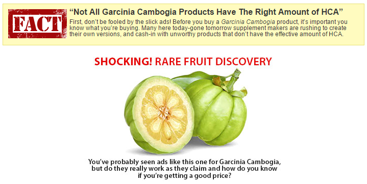 Find Out The Truth About Garcinia Cambogia Extract
