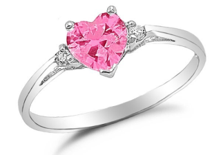 promise rings silver