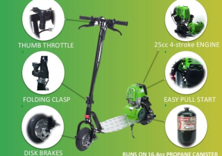 The ProGo 3000 Propane-Powered Scooter