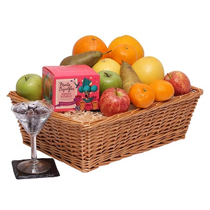 What Can Be Healthier Than A Fruit Basket?