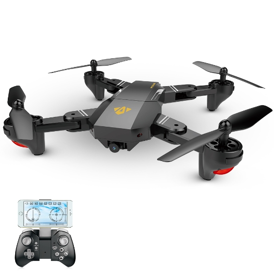 VISUO XS809HW Review: One Of The Finest Foldable Drone