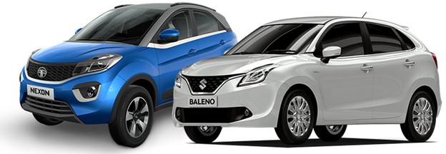 Tata Nexon vs Maruti Suzuki Baleno: Specs Comparison