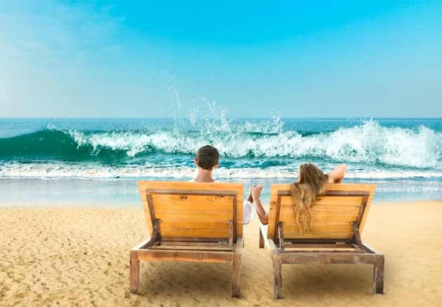 relaxed lifestyle in Goa