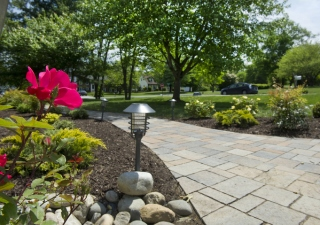 Exterior Home Improvement Through Hardscape Designs Provided by David Montyoa Stonemakers