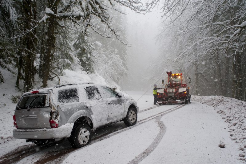 Safety Tips For Those Getting Towed In Winter