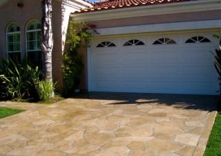 Decorative Concrete Driveways Boost Curb Appeal