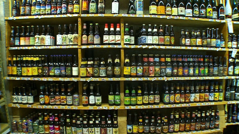store for liquor