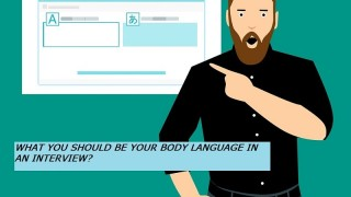 What You Should Be Your Body Language In An Interview?