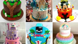 5 Unique Cake Ideas For Your Toddler's First Birthday