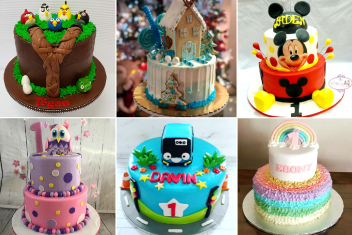 Fantastic 5 Unique Cake Ideas For Your Toddlers First Birthday Funny Birthday Cards Online Elaedamsfinfo
