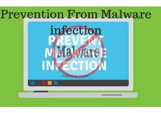 prevent malware infection